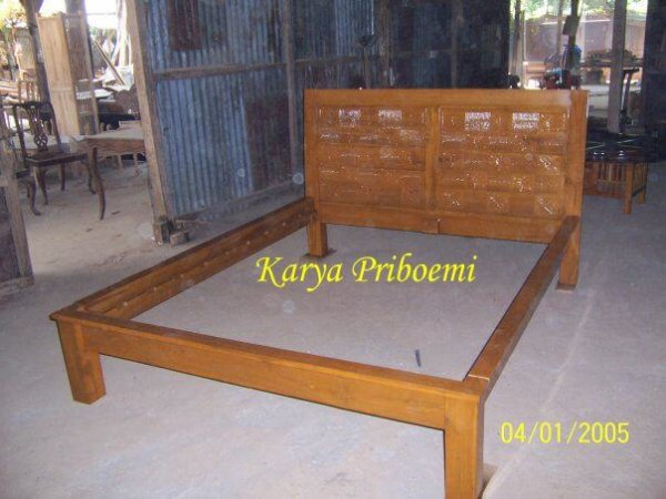Dipan Minimalis Kawung