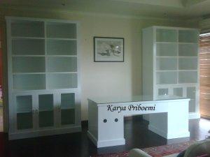 Set Meja Kantor Duco Putih