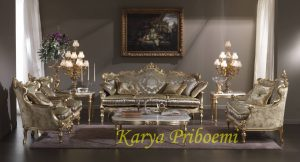 Kursi Sofa Tamu Baroque Royale
