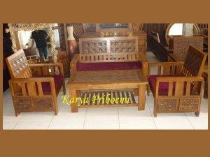 Kursi Tamu Minimalis Kawung Gelembung