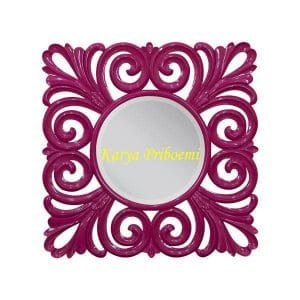 Figura Mirror Duco Pink