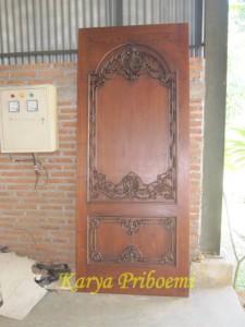Pintu Rumah Ukir Asli Jepara