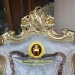 Detail Ukiran Kursi Tamu Klasik Baroque