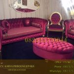 Set Kursi Tamu Sofa Chesterfield