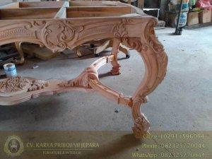 Detail Meja Makan Minerva Mewah