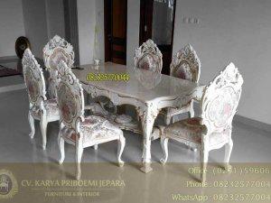 Set Meja Makan Mewah Minerva