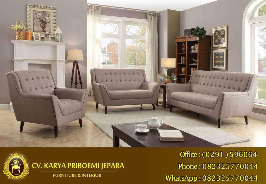 Sofa Set New Retro Jepara