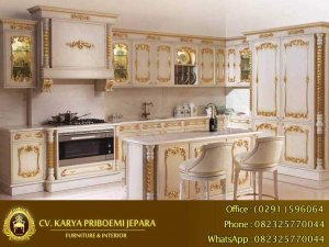 Kitchen Set Duco Ukiran Jepara