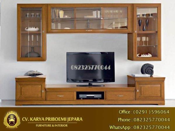 Bufet Tv Minimalis Bellagio Jati Jepara Harga Murah Kualitas Terbaik KP 512
