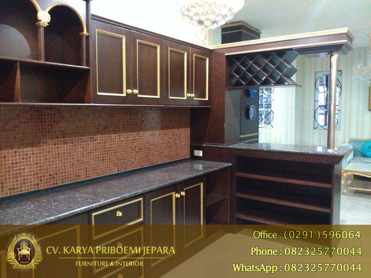 Kitchen Set Mini Bar Minimalis Jati Kitchen Appliances Tips And Review
