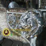 Detail Ukiran Kursi Sofa Ratu Mewah Jepara